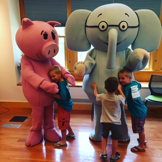 elephant & Piggie storytime