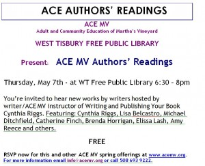 ACE Authors' Readings