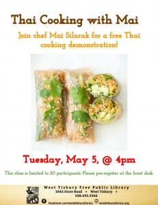 Thai Cooking with Mai