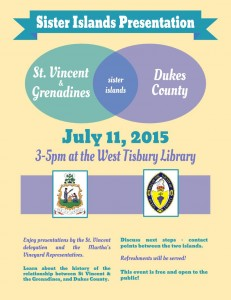 Sister Islands Presentation: Dukes County // St. Vincent & Grenadines