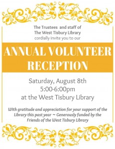 Annual Volunteer Reception
