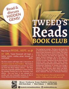 Tweed's Reads Book Club Meeting
