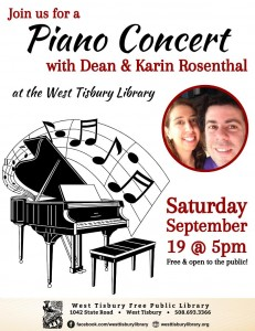 Piano Concert by Dean and Karin Rosenthal