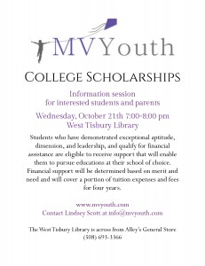 MV Youth College Scholarships Info Session