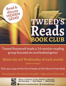 """""""TWEED'S READS"""" READING GROUP"""