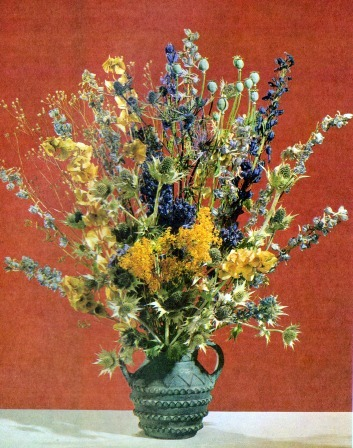 Dried Flower Arranging Workshop With Susan Silva Class Full West
