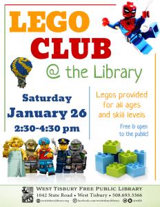 LEGO CLUB!