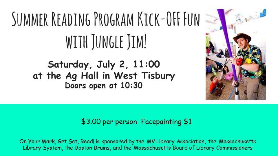 Summer Reading Program Kick-OFF Fun with Jungle Jim!-1