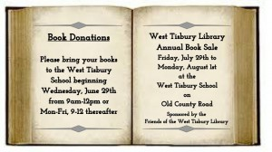 Book Donations at the West Tisbury School