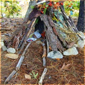 Build a Fairy or Gnome House!