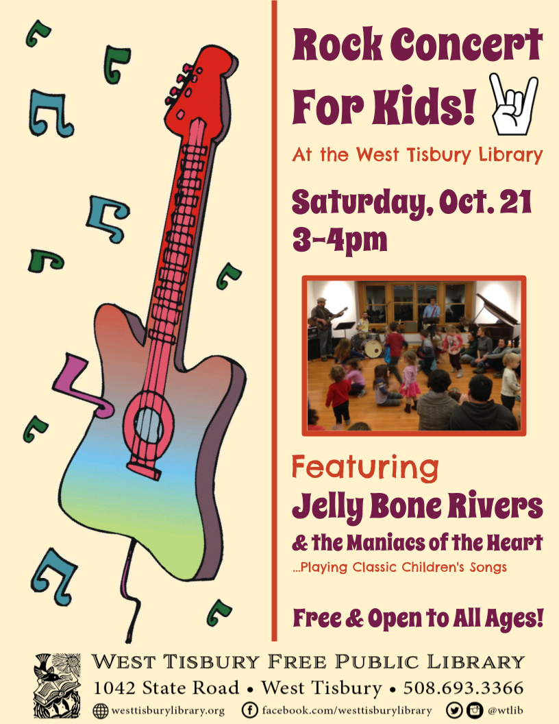 Children's Rock Concert with Jellybone Rivers and the ...