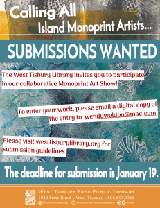 Monoprint Art Show submissions