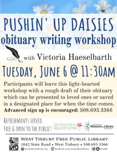 06-06-17_Obituary Writing Workshop
