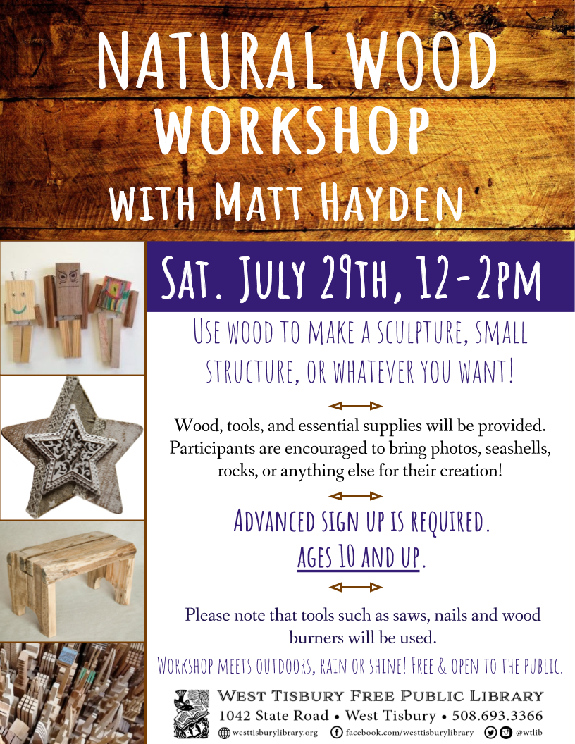 Kids' Natural Wood Workshop