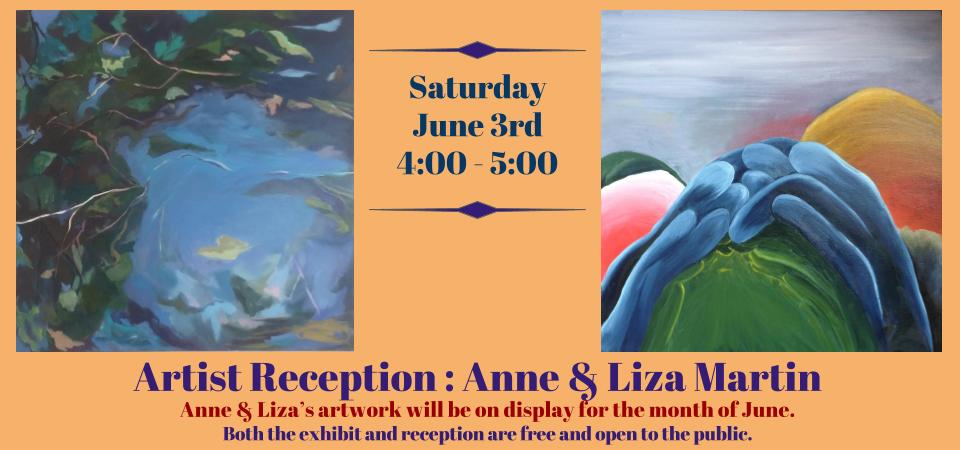 slider Anne & Liza Martin artist reception-1