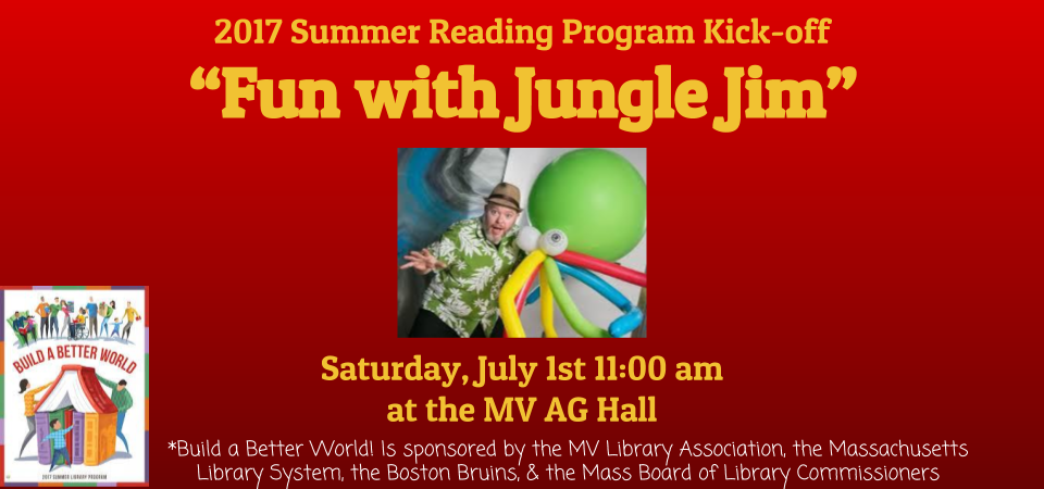 slider summer reading kick off Jungle Jim