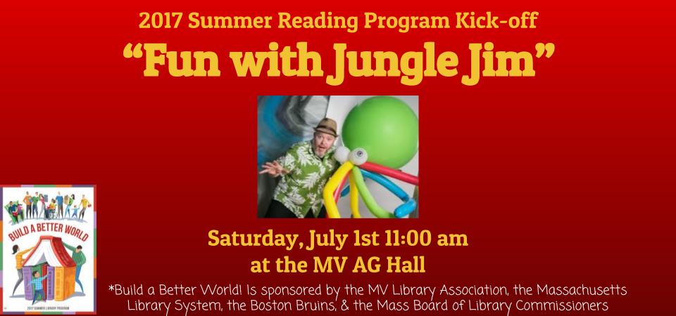 slider summer reading kick off Jungle Jim