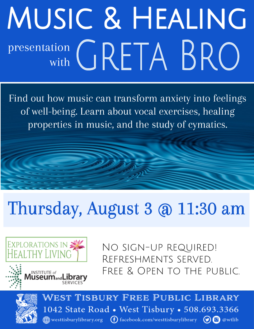 Music & Healing with Greta Bro