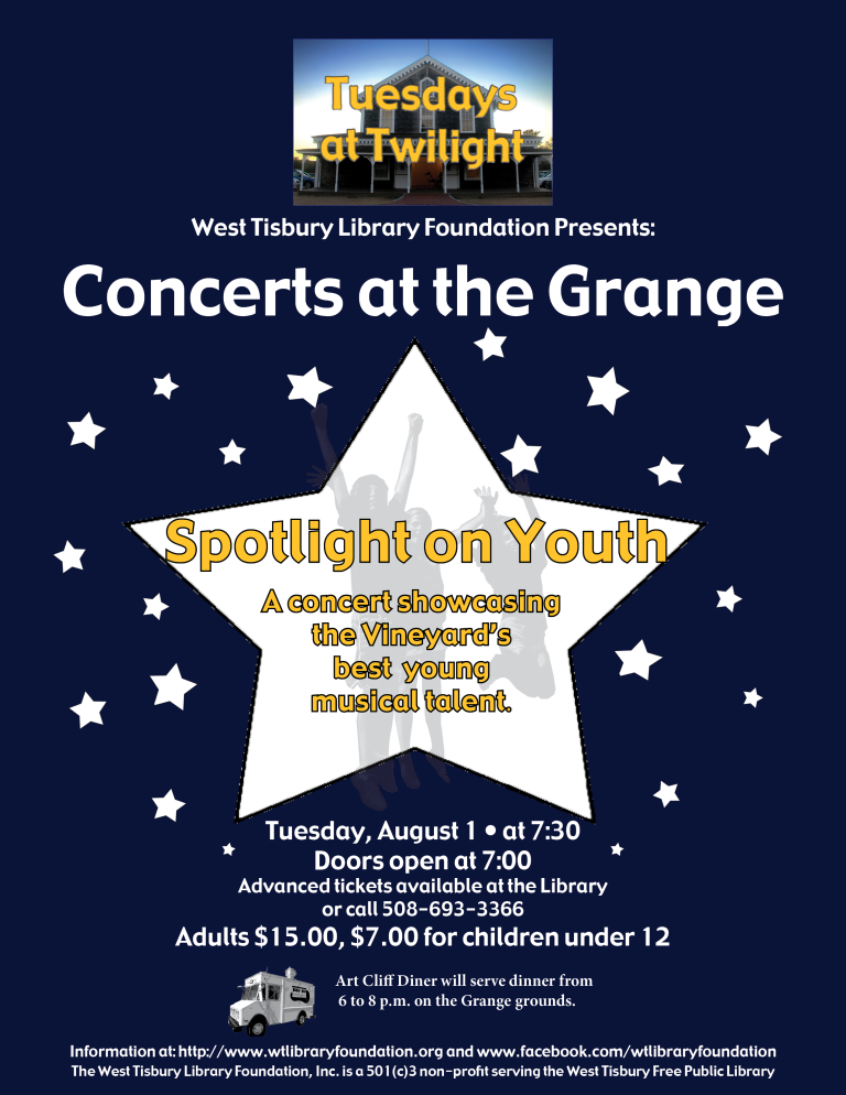 Tuesdays at Twilight: Spotlight on Youth at the Grange