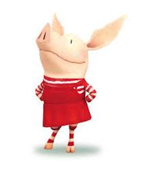 Olivia the Pig visits storytime!