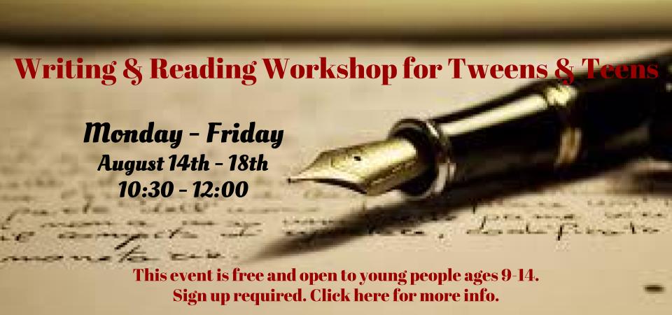 slider writing workshop