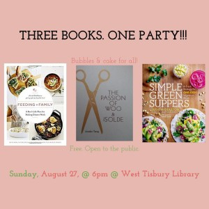 Book Release Party! - Jennifer Tseng, Susie Middleton & Sarah Waldman