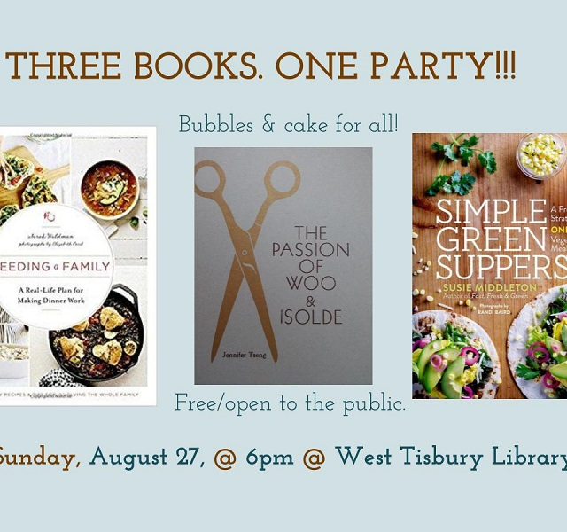 three books one party