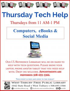 Tech Help - Computers, eBooks, Social Media
