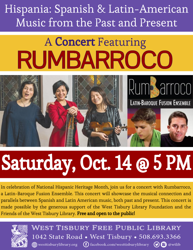 Hispania: A Concert Featuring Rumbarroco