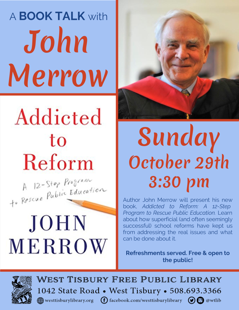 Book Talk with John Merrow