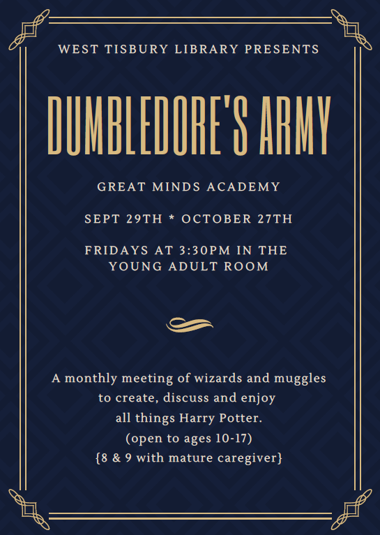 Dumbledore's Army (Tween/Teen Harry Potter Club)