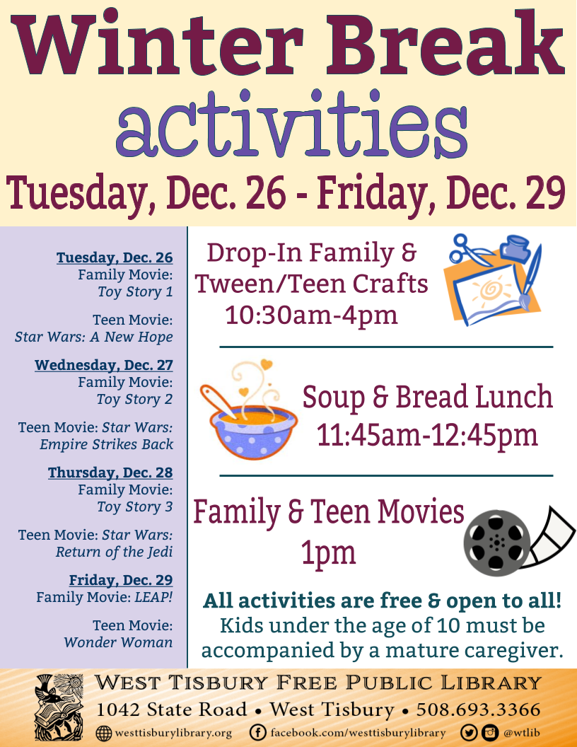 Free Soup & Bread Lunch!
