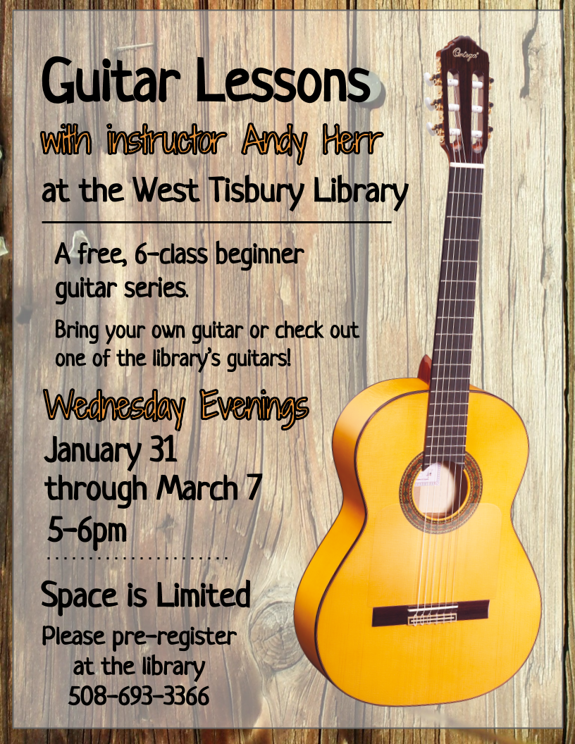 CLASS FULL! Beginner Guitar Lessons
