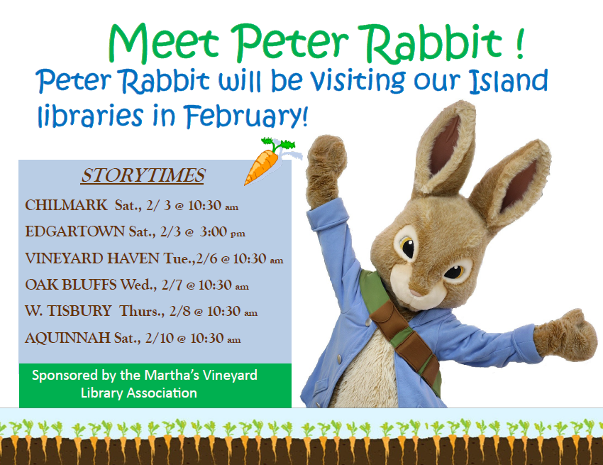 Storytime with Peter Rabbit!