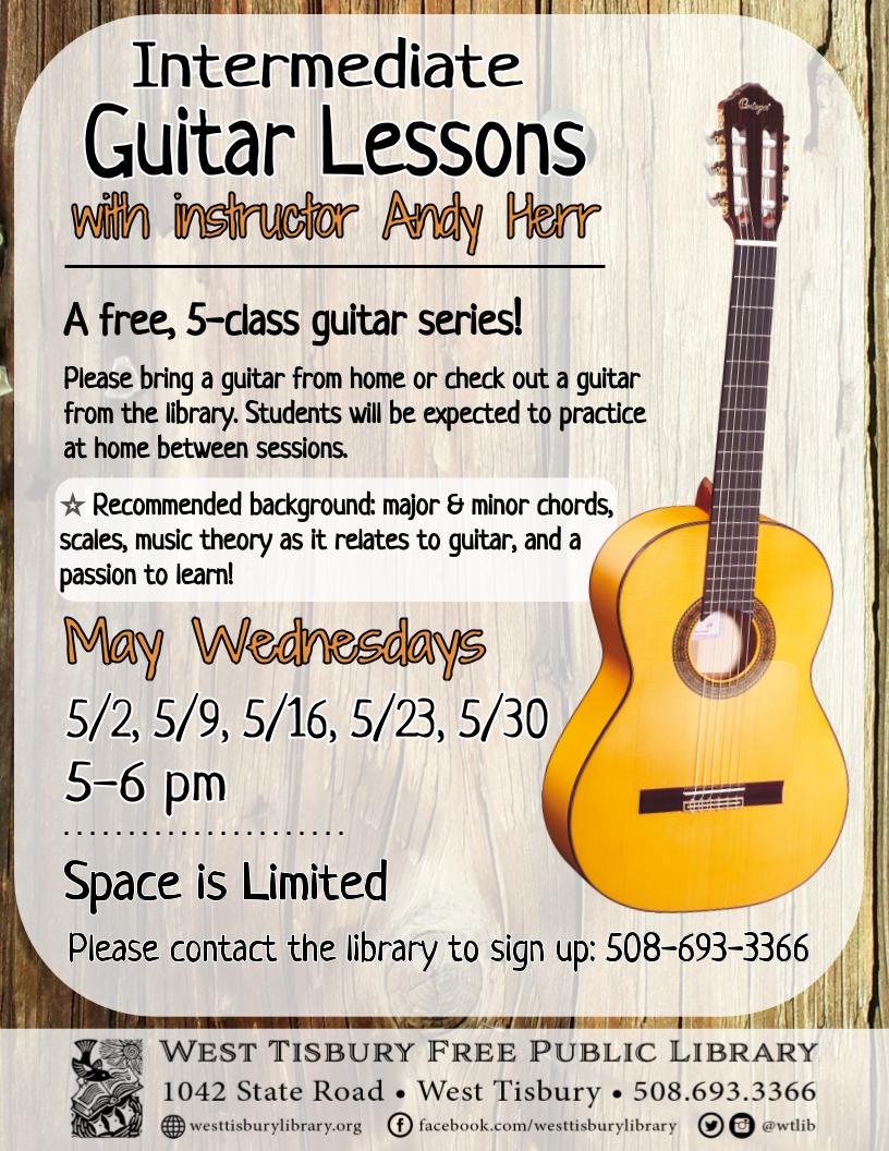 Intermediate Guitar Class