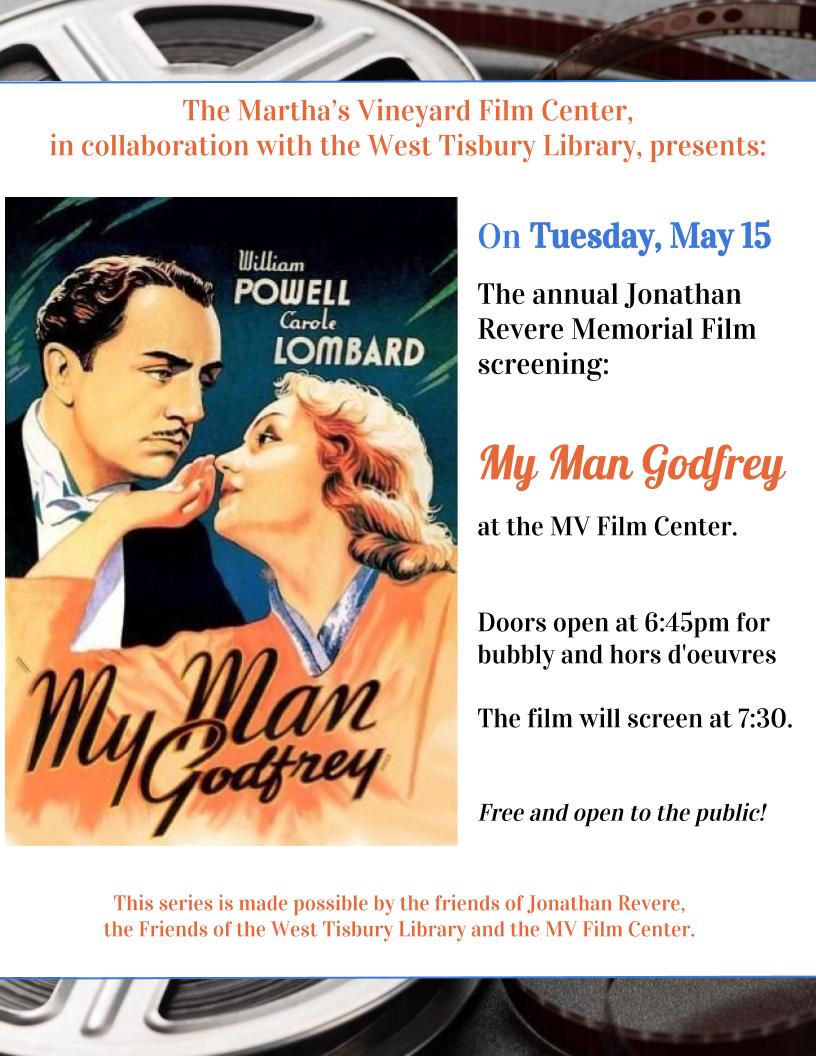 Jonathan Revere Memorial Film Screening at the MV Film Center @ Martha's Vineyard Film Center | Tisbury | Massachusetts | United States
