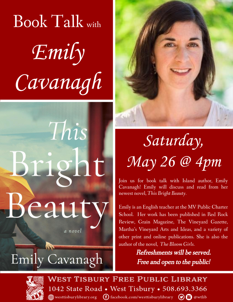 Book Talk with Emily Cavanagh