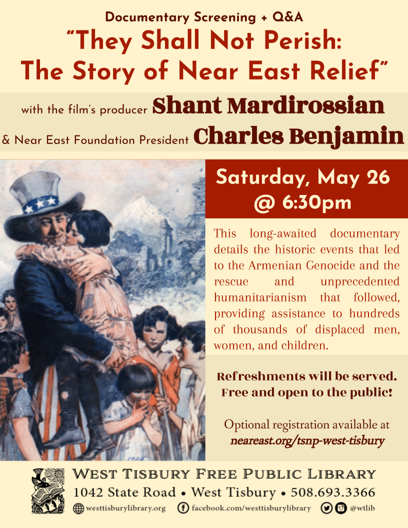 "Film Screening: ""They Shall Not Perish"""