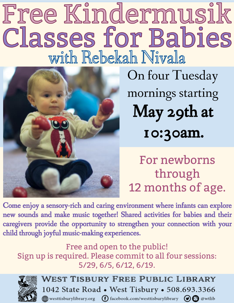 Free Kindermusik Classes for Babies