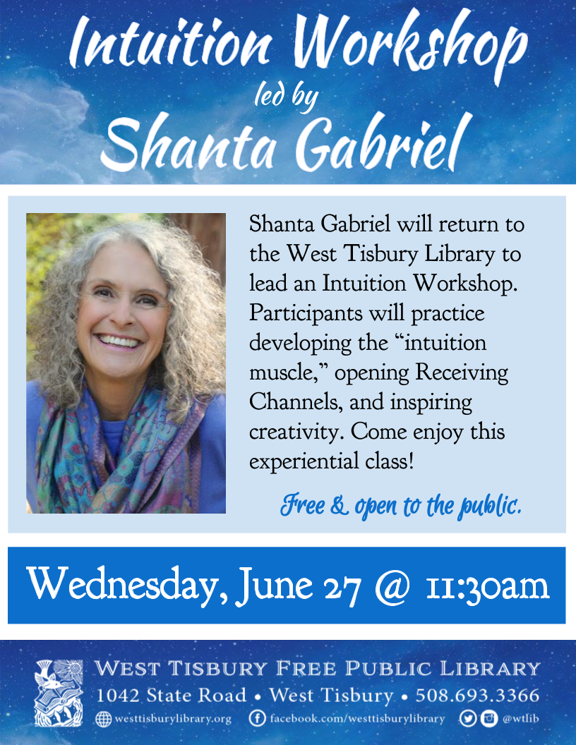 Intuition Workshop with Shanta Gabriel