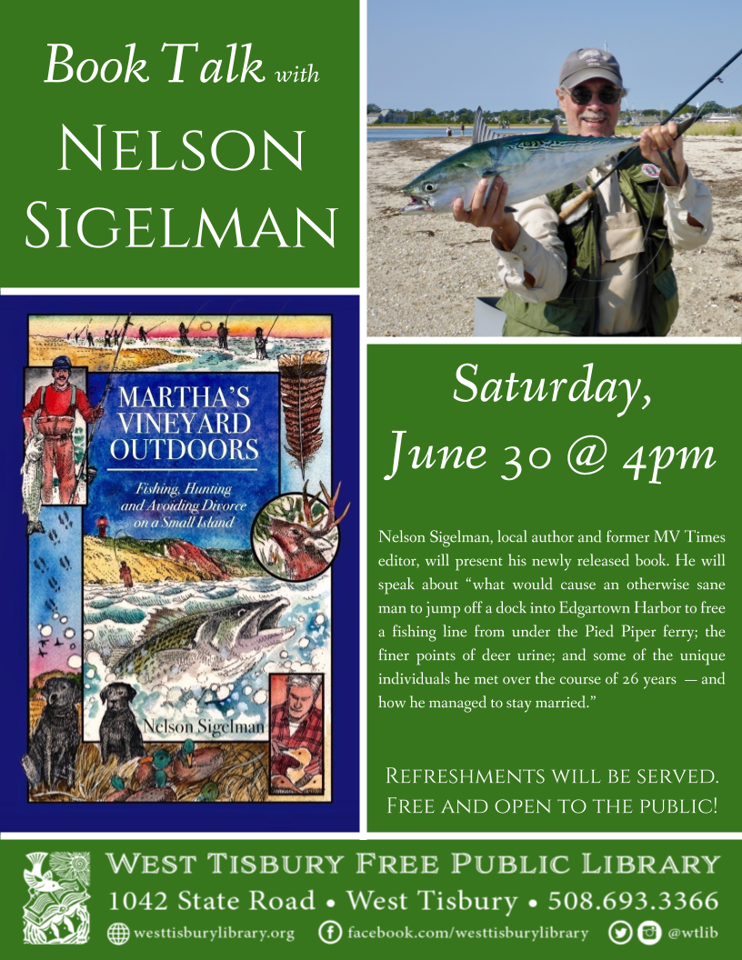 Book Talk with Nelson Sigelman