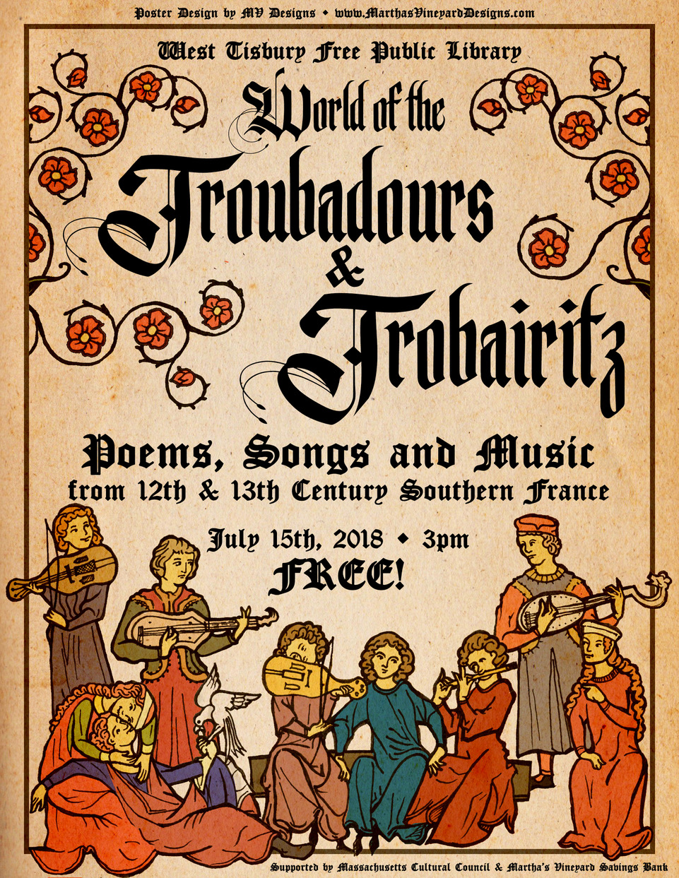 The World of the Troubadours and Trobairitz