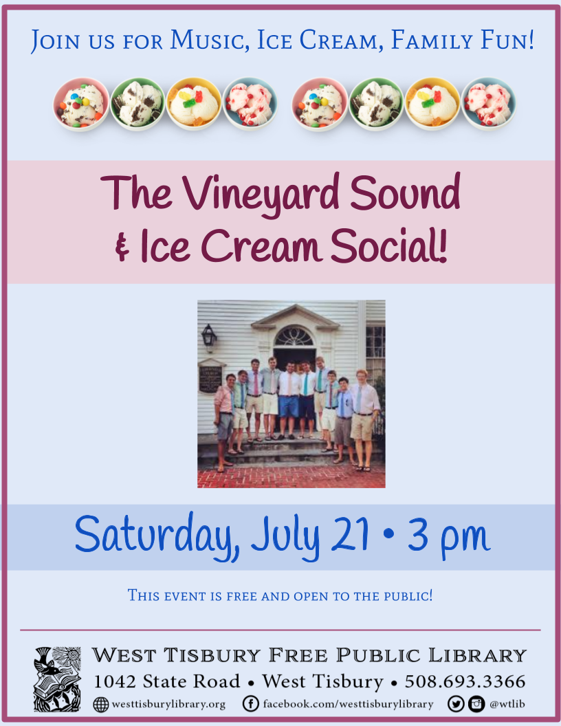 Vineyard Sound Concert and Ice Cream Social