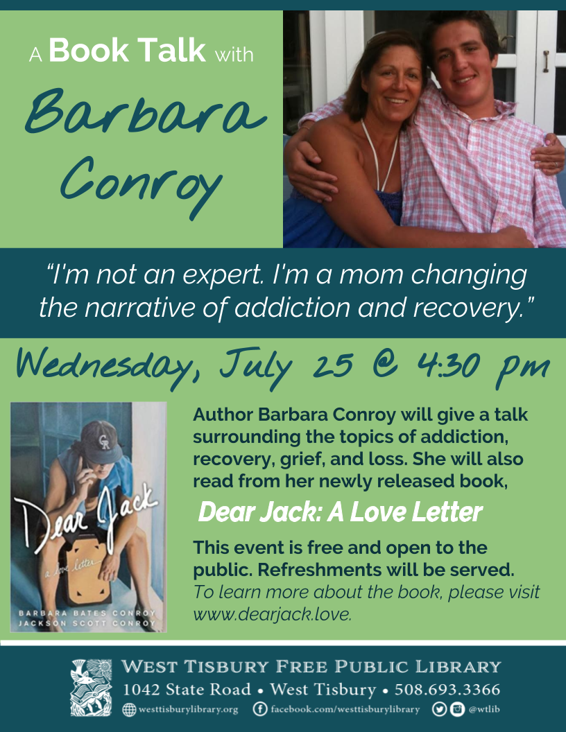 Book Talk with Barbara Conroy