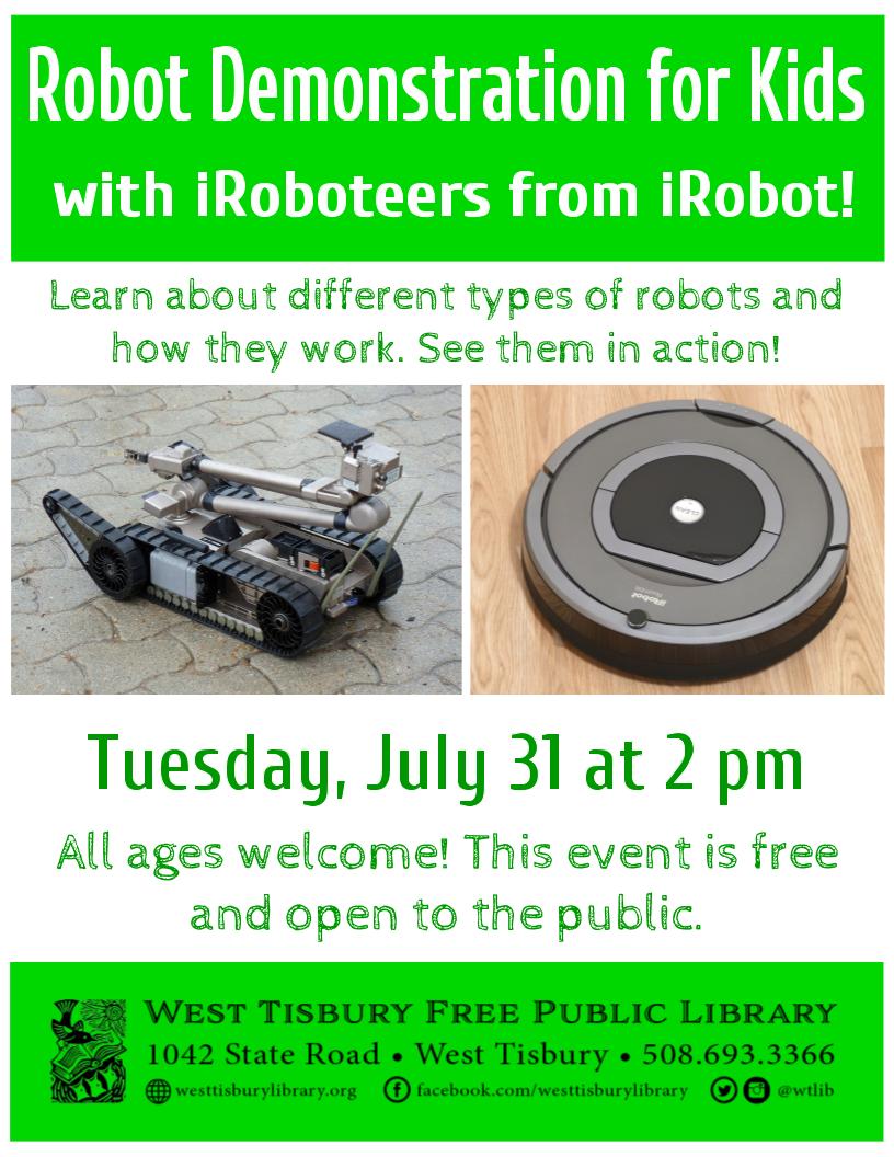 Robot Demonstration for Kids