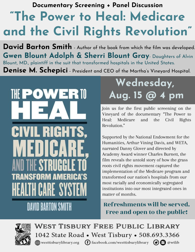 The Power to Heal: Medicare and the Civil Rights Revolution - Film Screening & Discussion