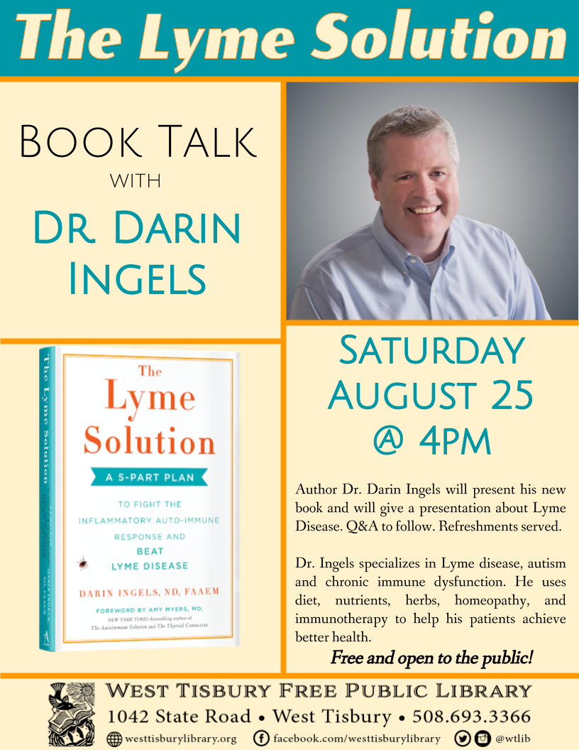 Book Talk with Dr. Darin Ingels