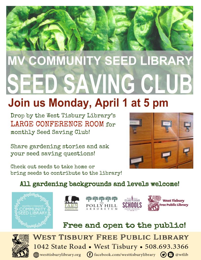 Seed Saving Club