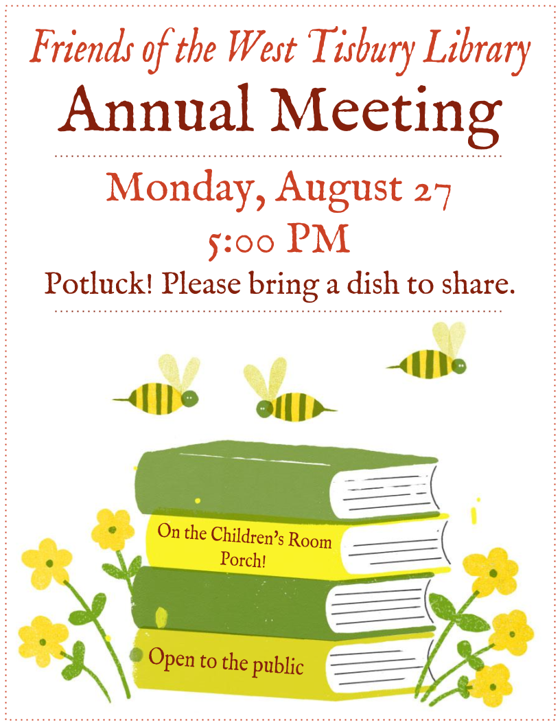 Friends of the West Tisbury Library Annual Meeting