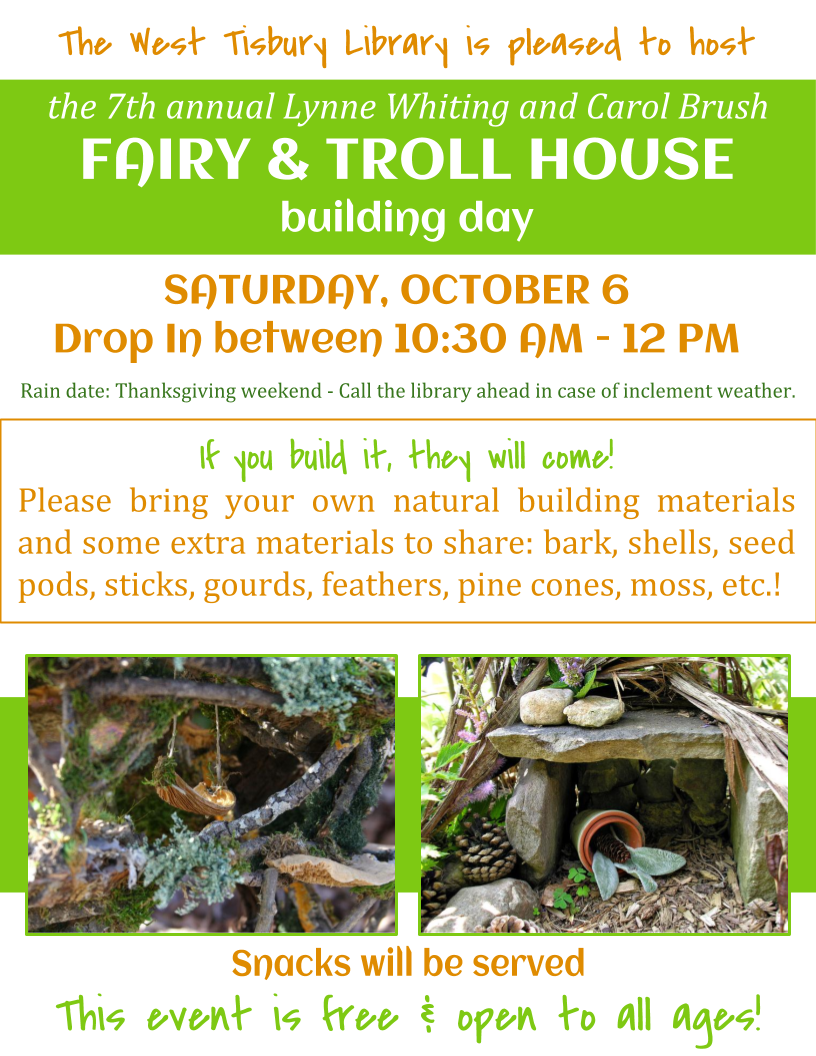 Build a Fairy or Troll House!